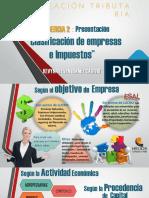 Clasificación de las empresas en Colombia y los impuestos de personas naturales