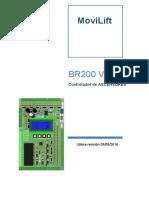 Movilift Esp - Br200_ v1.1 User Manual