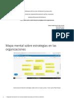 Flores_Teresa_Mapa Mental Estrategia en Organizaciones