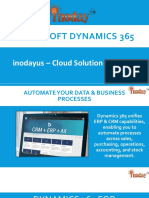 Microsoft Dynamics 365 – Introduction