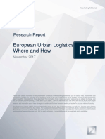 Deutsche AM European Urban Logistics