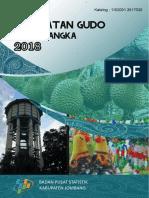 Kecamatan Gudo Dalam Angka 2018