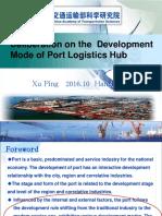 Gruene Logistik Port Logistics Hub