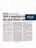 Manila Bulletin, June 18, 2019, Will a neophyte become the next House Speaker.pdf