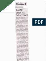 Manila Standard, June 18, 2019, Last mile schools, roads for learners eyed.pdf