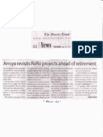 The Manila Times, June 18, 2019, Arroyo revisits RoRo projects ahead of retirement.pdf