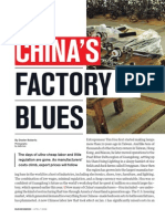 China's Factory Blues