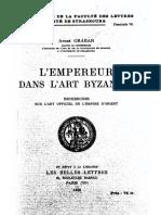 Grabar A._ L'Empereur Dans l Art Byzantin