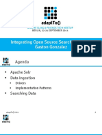 AdaptTo2014 - Integrating Open Source Search With AEM Gaston Gonzalez