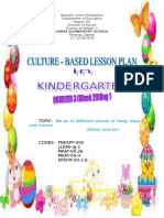 culture based lesson plan