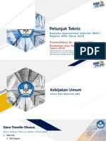 Petunjuk Teknis BOS SMK 2019