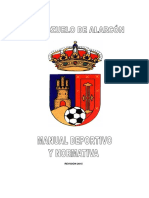 Manual Deportivo y Normativa - Ed. 2015