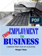 From Employment to Business
