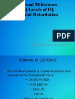 Normal Milestones PPT