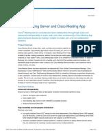 Ccs Cisco Meeting Server Datasheet