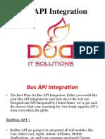 Bus API Integration