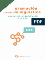 Manual Introduccion Pnl Mindful Science