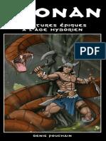 Conan JdR (système Epix)
