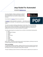 Complete Setup Guide for Automated Blogs