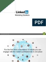 Linkedin Deck Advertising