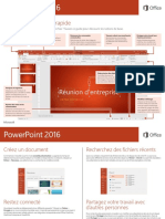 0695 Powerpoint 2016 Guide de Demarrage Rapide