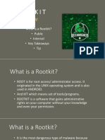 Rootkit- Round 1
