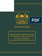Kenya (Criminal Benchbook)