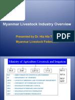 Myanmar Livestock Industry Overview Dr Hla Hla Thein Dr Thet Myanmar