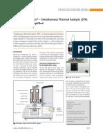 STA 449 F5 Jupiter Simultaneous Thermal Analysis