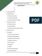 01.01 Indice General Modelo Sistema de Riego