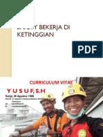 01. Safety Bekerja Di Ketinggian