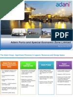 Adani Ports & SEZ - Investor Presentation