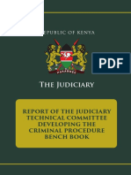 Kenya Committee Report - Benchbook