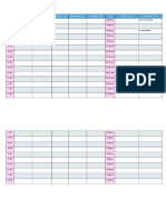 To Do Timetable