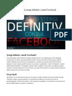 Cum să îți ștergi definitiv contul Facebook.odt