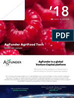 AgFunder Agrifood Tech Investing Report 2018