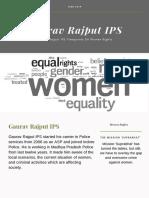 [Gaurav Rajput IPS] | Viewpoints On Women Rights