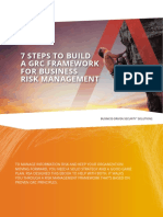 7 Steps to Build a Grc Framework