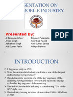 Presentation on Automobile Industry