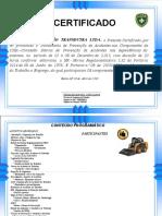 Certificado Minipacarregadeira 20 ABR 2019
