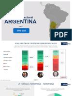 Encuesta ARGENTINA Junio19