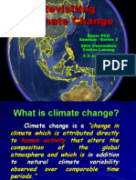 Revisiting Climate Change - PCO Sem June 2016