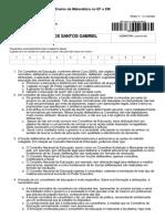 +Alfabetização Matemática (2) - Ensino da Matemática no EF e EM - 1a. chamada - Avaré_SP (U.A.P Avaré - SP)