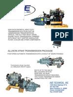 Allison Transmission Brochure