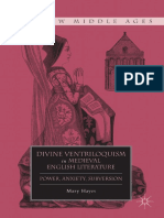 [New Middle Ages] Mary Hayes - Divine Ventriloquism in Medieval English Literature_ Power, Anxiety, Subversion (New Middle Ages) (2011, Palgrave Macmillan)