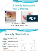 Review of Acrylic Removable Partial Dentures