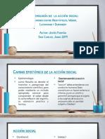 Presentacion Epistemología de La Acción Social