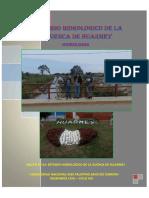 Estudio Hidrologico de La Cuenca de Huarmey