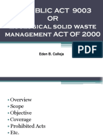 2017 RA 9003 Solid Waste
