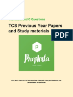 Pro TCS Technical Paid Paper